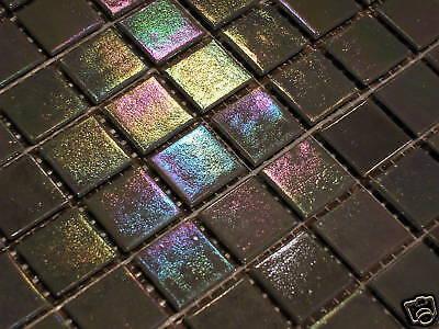 glasmosaik fliesen mosaik perlmutt effekt grau top bad dusche pool sauna eur 4 95 picclick de. Black Bedroom Furniture Sets. Home Design Ideas