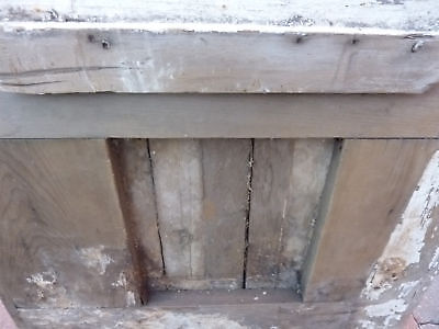 "c1830 LARGE doric column capital blocks 36"" sq x 5"" 4"