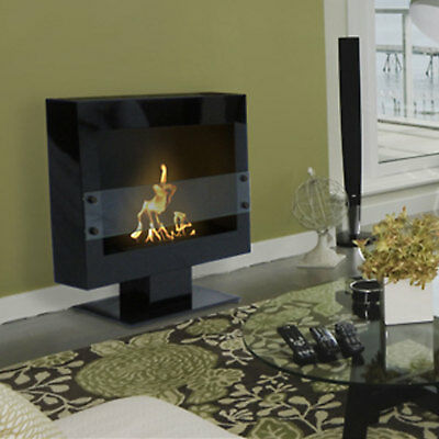 Anywhere Fireplace Tribeca II 2 Floor Stand Fireplace Smokeles Bio Fuel Odorlese 2