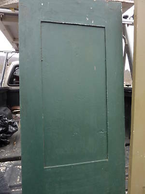 "18th century 2 panel door raised panels 22 x 77.5"" 7"