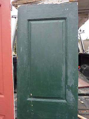 "18th century 2 panel door raised panels 22 x 77.5"" 2"