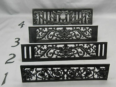 Vintage Pair  Black Cast Iron Fire Dogs for Fireplace (#4) 8