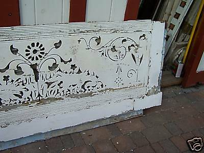 "AWESOME VICTORIAN gingerbread house fascia board 84x30"" 3"