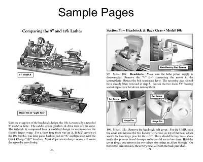 southbend bglm 30 parts manual