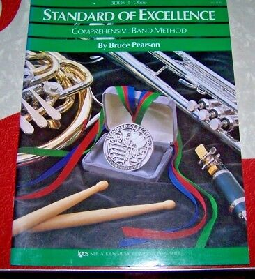 Standard of Excellence - OBOE - Book 3