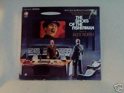 Shoes of the Fisherman Music by Alex North OST SS LP