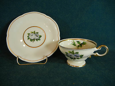 Castleton China York Rose Cup and Saucer Set(s)