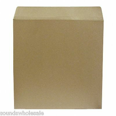"""100 12"""" Strongest All Board Brown Record Mailers Envelopes *new*  + 24H Courier"""