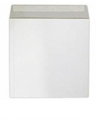 """50 X 7"""" Strongest 550 Micron White Record Mailers Envelopes  + 24 Hour Del !"""