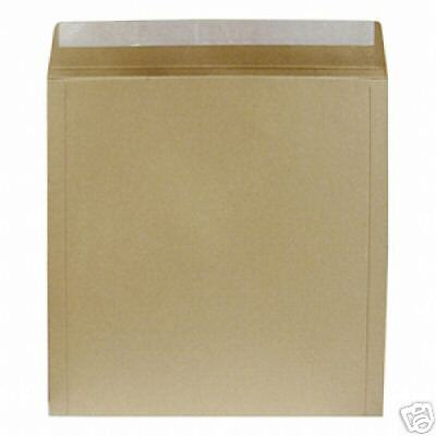 "10 12"" / Lp Strongest 650 Micron All Board Peel & Seal Brown Record Mailers"