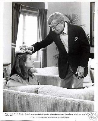 Brooke Shields George Burns•Just You and Me Kid•8x10 Movie Photo