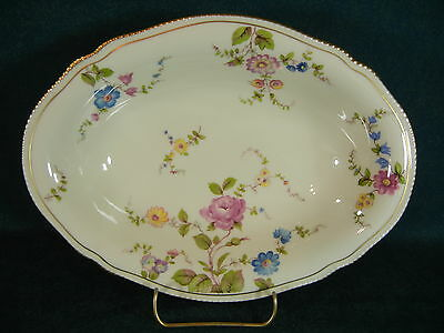 "Castleton China Sunnyvale Oval 10 1/8"" Vegetable Serving Bowl"
