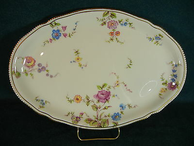 "Castleton China Sunnyvale Oval 13 1/2"" Serving Platter"