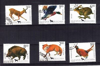 1576++Bulgarie  Animaux  Sauvages  1993