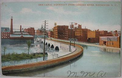 1910's~Erie Canal Aqueduct~Genesee River~Rochester, NY