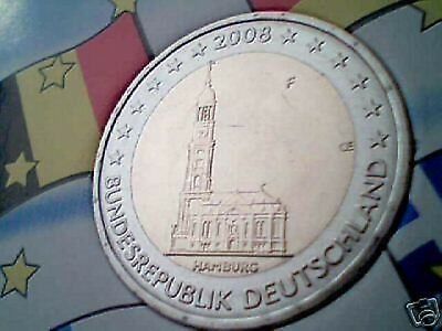 2 euro 2008 Germania Hamburg Allemagne Germany Alemania Германия Deutschland