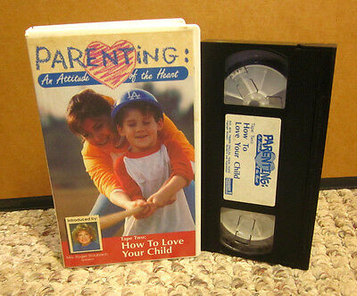 PARENTING peer pressure How to Love Your Child VHS Rick Nielsen & Ross Campbell