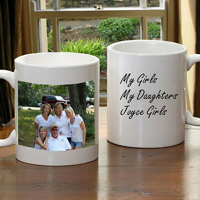 Personalize your very own Photo Coffee Mug (11oz White)