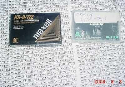 2pc LOT NEW 112M DATA TAPES DL 112m or HS-8/112 MAXELL