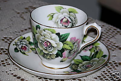 Tuscan China - Gardenia - Demitasse Cup & Saucer Set