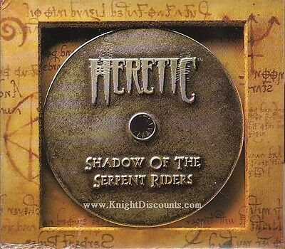 HERETIC Shadow of the Serpent Rider - Vintage Rare Shooter PC Game - NEW SEALED