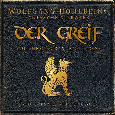 CD Wolfgang Hohlbein Der Greif Collectors Edition  4CDs