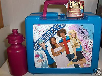 High School Musical`Plastic Lunchbox & Bottle`NewW/Tags