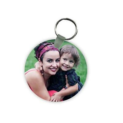 """Personalize your own Photo Key Chain (2 1/2"""" Round)"""