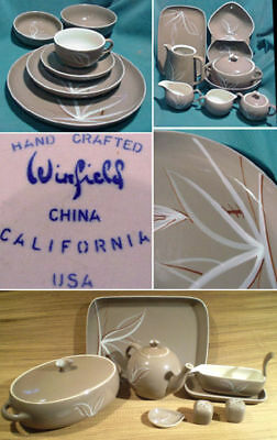 WINFIELD CHINA, Desert Dawn, REPLACEMENT PIECES
