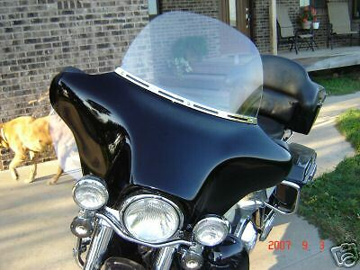 FAIRING WINDSHIELD SIDE Wing Air Deflectors for Harley