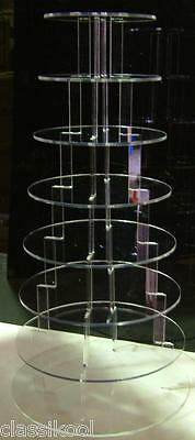 8 Tier Round Circle Fairy Cupcake Sweet Stand Mince Pie