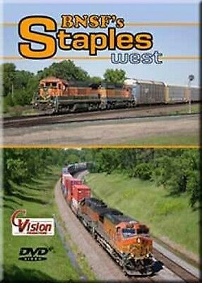 BNSF Staples West DVD Sealed NEW Cvision