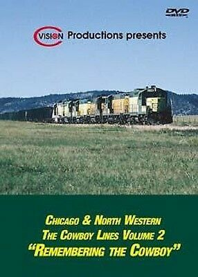 Chicago & Northwestern - The Cowboy Lines Vol 2 DVD NEW