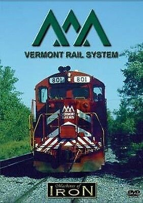 Vermont Railway System on DVD by Machines of Iron