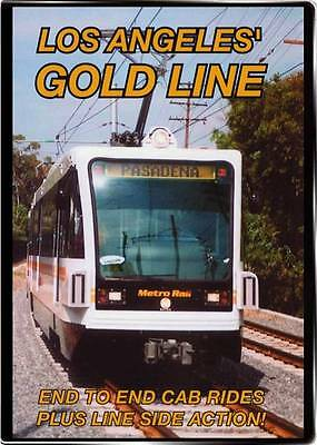 Los Angeles Gold Line on DVD by Valhalla Video