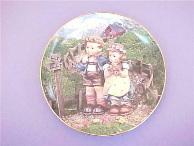 Hummel Country Crossroads Little Companions Plate