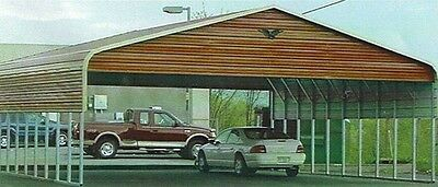 Triple wide Steel Carport Cover   30 X 21   FREE INSTALLATION NATION-WIDE!!