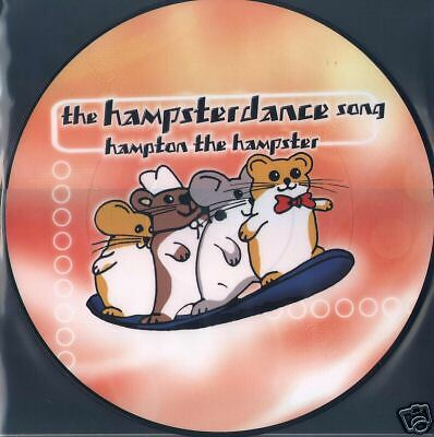 Picture Vinyl Hampton The Hampster Hampsterdance Limited Edtion