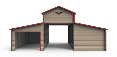 32x21x12 All-Steel Horse-Barn, garage,  FREE DELIVERY AND INSTALLATION!