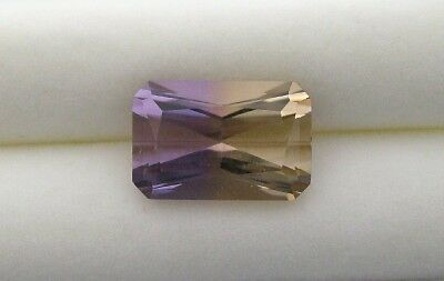 4.30 Cts. NATURAL AMETRINE RADIANT EMERALD CUT
