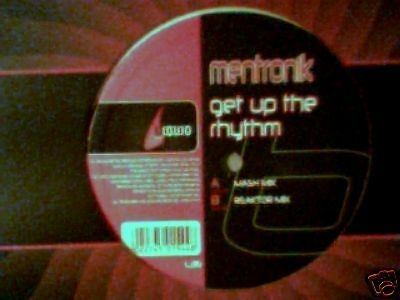 "MENTRONIK Get up the rhythm 12"" MASH RARISSIMO"