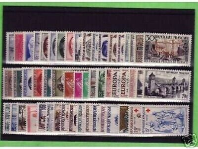 Annee  Complete  France  Luxe  1957 +++
