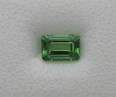 .65 ct. Natural Tsavorite Garnet ** Emerald Cut