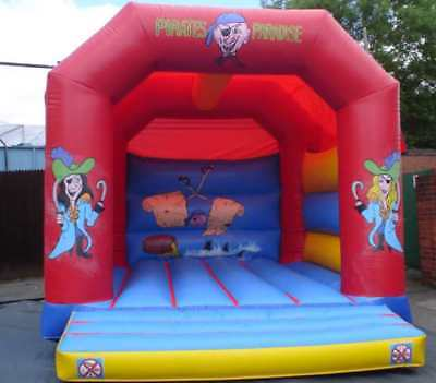 Pirate  A Frame  Bouncy Castle 11.5 FT X 11.5 FT Made To Order