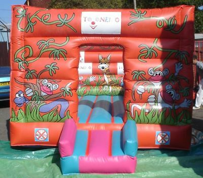 Jungle Box Bouncy Castle 11.5 FT X 11.5 FT Made To Order