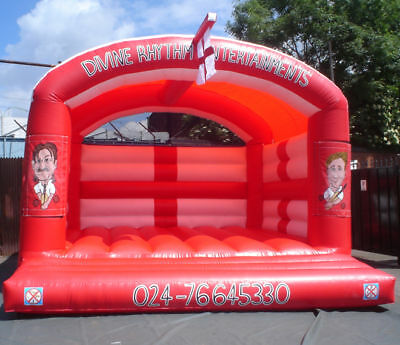 Cricket Adult Bouncy Castle 13.5 FT X 13.5 FT Made To Order