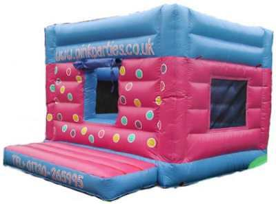 Balls Box Castle 11.5 FT X 11.5 FT Made To Order
