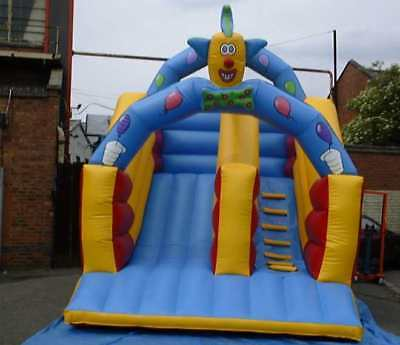 Clown Slide With Head12 FT X 17 FT Made To Order