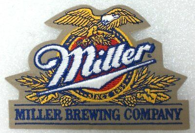 Miller Brewing Company  PATCH  Beer  Brand New