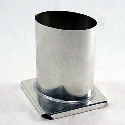 3-1//8 inches x 7-1//2 inches Tall HEXAGON Candle Mold